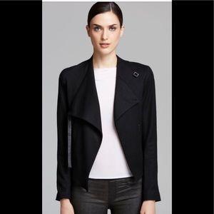 Helmut Lang Asymmetrical Black Blazer EUC